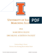 UIUC Bass Drum Packet 2014