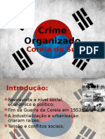 Crime Organizado Na Coreia Do Sul