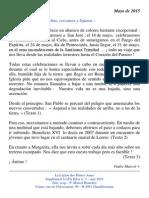 Marcel Blanchet – Mayo 2015 - Bélgica Centro Internacional de las Pequeñas Almas