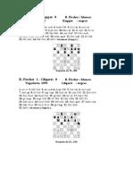 Partidas de Fischer