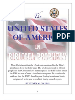 The United States in Biblical Prophecy--Steve M. Collins