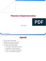 Theories of Open Innovation