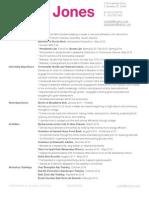 Resume E Portfolio