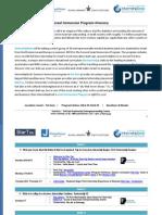Israel Immersion Program 2015 Curriculum