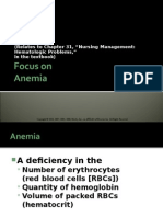 Adult Nursing - Anemia