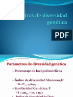 20 Parámetros de Diversidad Genética