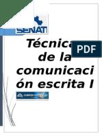 Tecnicas de La Comunicacion Escrita i