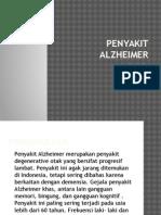 Penyakit Alzheimer Ppt Dinda
