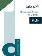 Dimensions Sample Report