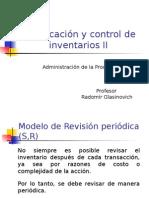 Planificacion y Control de Inventarios II