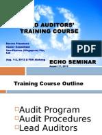Lead Auditors Training Course