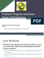 PPT evaluasi program imunisasi