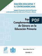 Volumen 15 - Equidad y complementariedad de género en la educación primaria.pdf