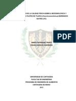 Evaluación de La Calidad Físico-química, Microbiológica y Sensorial de Filetes de Tilapia (Oreoch