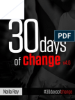 30 Days of Change
