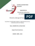"""Actividad IV Direccion de Proceso y liderazgo """" C.No verbal"""