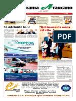 Periódico Panorama Araucano edición número 16 del 2015.