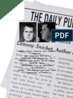 lemony snicket writer profile final