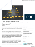 Cloud Security Reaches Silicon MIT News