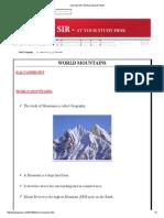 KALYAN SIR_ WORLD MOUNTAINS.pdf