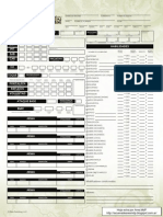 Pathfinder - Hoja de Personaje (Editable)