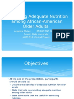 adequate nutrition for older adults