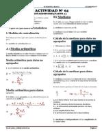 ACTIVIDAD N° 4 - 5° D ESTADISTICA