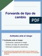 Forward de Tipo de Cambio