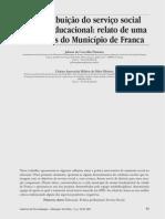 A Contribuição Do Serviço Social Na Área Educacional Relato de Uma Das Ações Do Município de Franca1