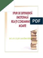 7 Tipuri de Dependenta Emotionala Relatii Condamnate La Moarte