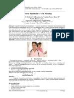 Burnout Syndrome -----In Nursing