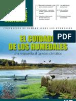 folleto El cuidado de los Humedales (2009) Convención de Ramsar sobre los Humedales