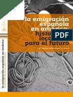 La emigración española en américa