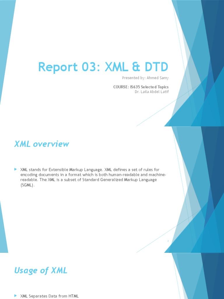 Xml Dtd Xml Document Type Declaration Xml Data Model