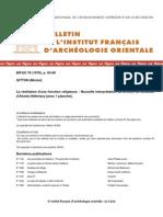 """Gitton, M., """"Nouvelles remarques sur la stèle de donation d'Ahmès Néfertary"""", BIFAO 79, (1979)"""