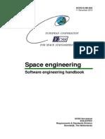 ESA ECSS Space Engineering - Software Engineering Handbook
