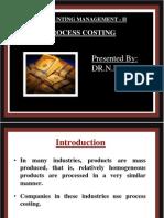 Process Costing,RAMAN ROY