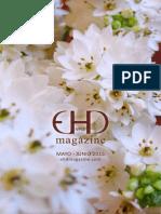 EHD magazine NÚMERO 10 - MAYO Y JUNIO 2015