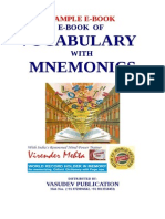 free download ebook of Vocabulary with mnemonics by virender mehta