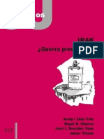 CJ 117, Irak ¿Guerra Preventiva - Varios Autores