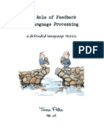 The Role of Feedback in Language Processing