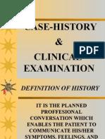 Case History Clin Examn