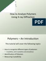 How to Analyze Polymers