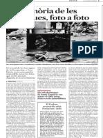 La Memòria de Les Barraques, foto a foto