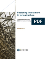 Fostering Investment in Infrastructure