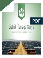 Presentasi PLTS Infrastruktur Pedesaan