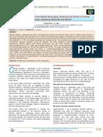 Phytochemistry, in vitro Free Radical Scavenging, Chelating and Toxicity of Centela asiatica L. (Apiaceae) Ethanolic Leaf Extract