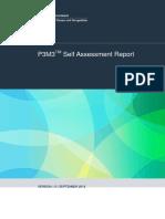p3m3 Self Assessment Report 2012