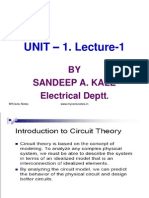 Development of Circuit Concepts Unit 1