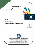 Soal LKS IT Software Application Prov Kaltim